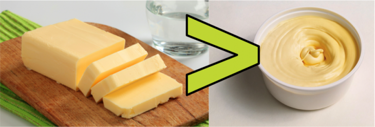 Fitness Myths Butter vs Margarine