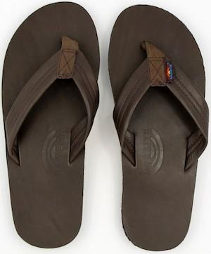 never wear flip-flops